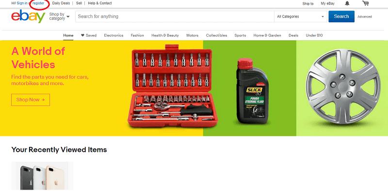 Hướng dẫn đăng ký tài khoản trên eBay