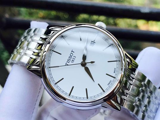 đồng hồ tissot 1853 carson ladies chronograph