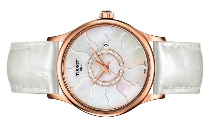 đồng hồ tissot 1853 rose dream gold