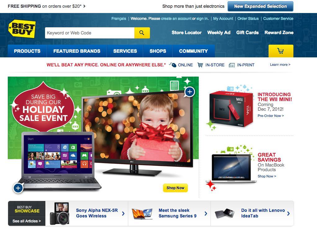 các trang web mua hàng online ở mỹ