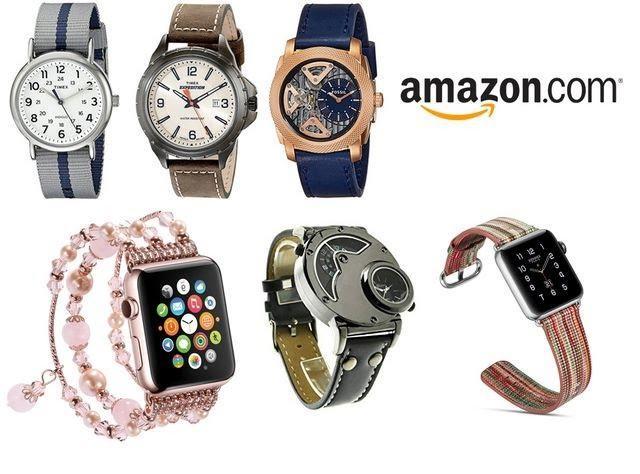 mua đồng hồ sale off trên amazon