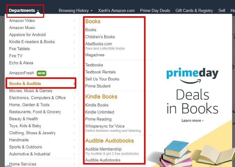 mua sách trên amazon về việt nam