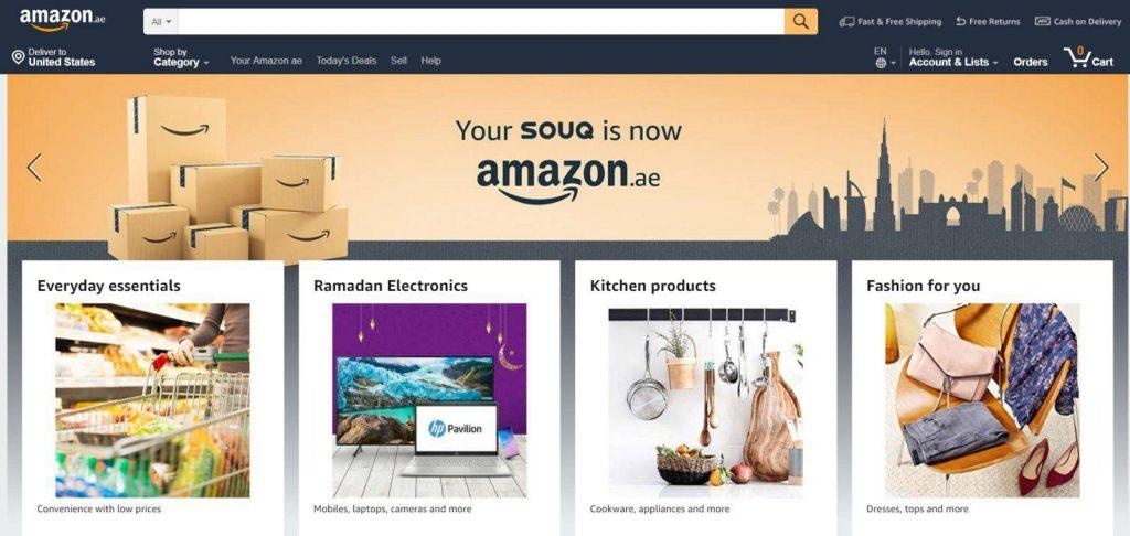 trang web mua hàng mỹ