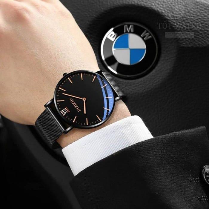 Quà tặng sinh nhật cho chồng là một chiếc đồng hồ nam chính hãng
