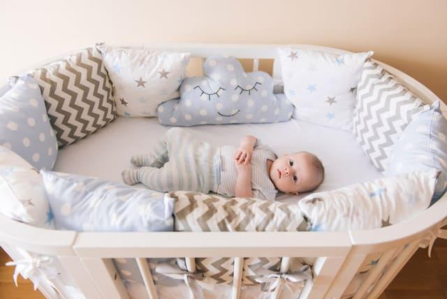 Nôi ngủ cho bé trai dưới 1 tuổi