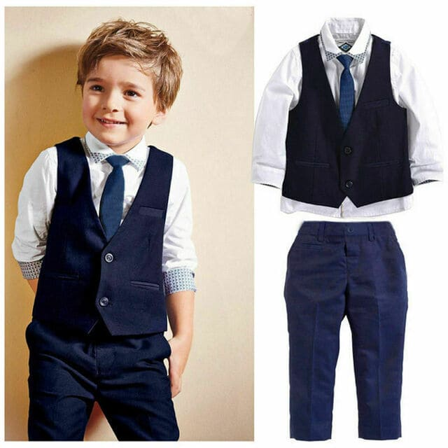Quần áo cho bé trai 6 tuổi