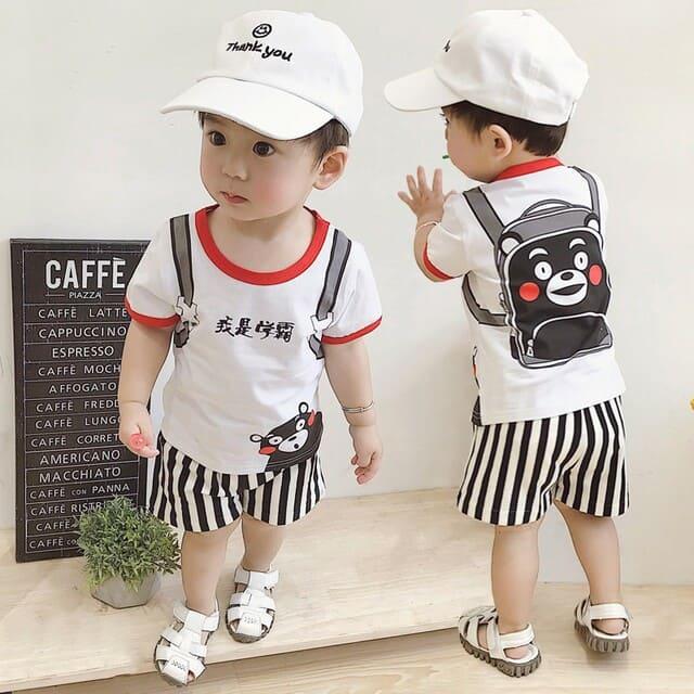 Quần áo thời trang cho bé trai từ 1 đến 3 tuổi