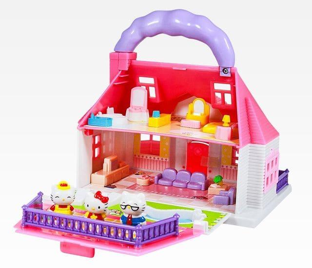 Bộ đồ chơi ngôi nhà vui vẻ Hello Kitty cho bé gái