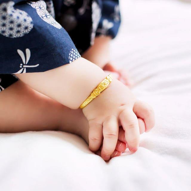 Lắc tay cho bé trai 1 tuổi