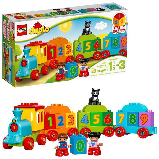 Bộ đồ chơi tàu hỏa cho bé trai