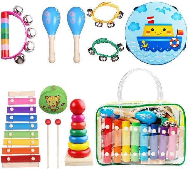 Bộ nhạc cụ đồ chơi dành cho trẻ em