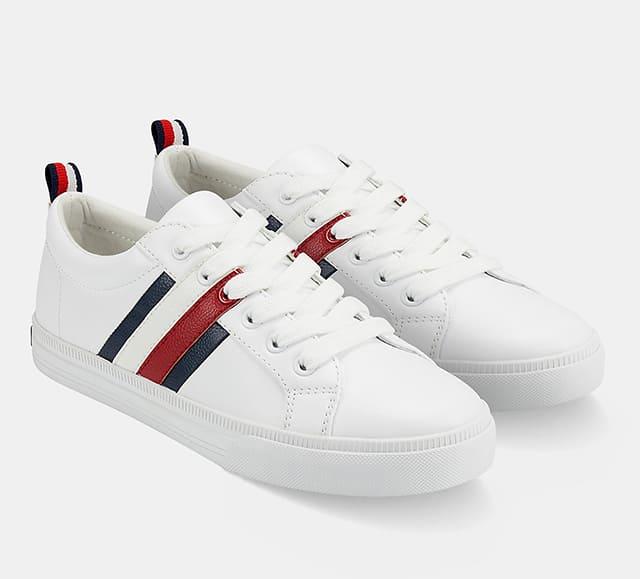 Bold Tripe Sneaker Tommy Hilfiger