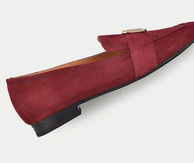 Mặt đế mẫu giày búp bê da lộn Tommy Hilfiger