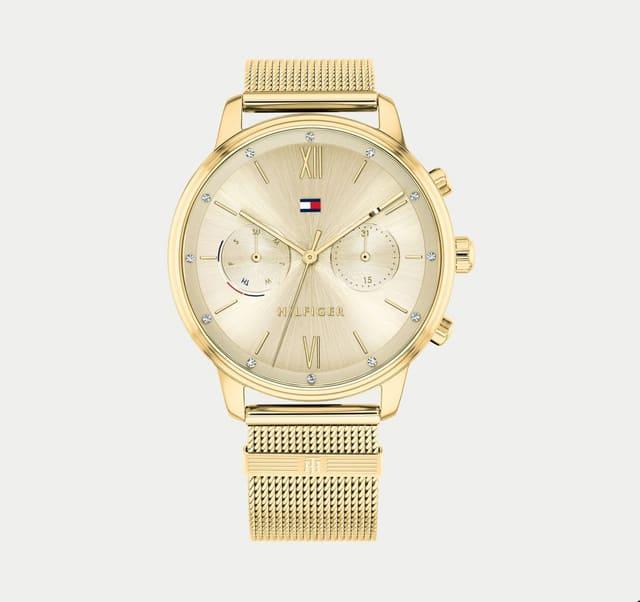 Đồng hồ Tommy Hilfiger mạ vàng
