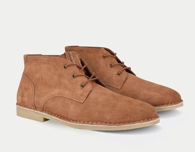 Giày da lộn Tommy Hilfiger