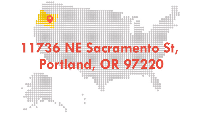 Tiểu bang Oregon - map