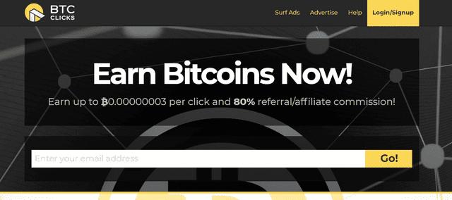 Đào bitcoin miễn phí bằng BTC Clicks