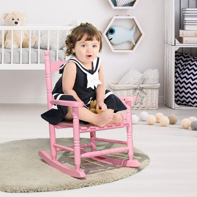 Ghế bập bênh cho bé giới 3 tuổi