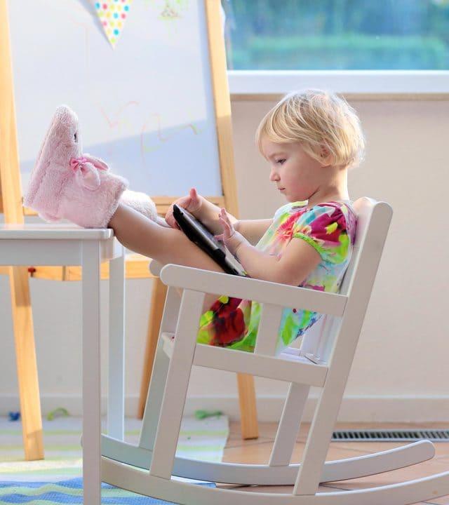 ghế bập bênh cho bé linh hoạt