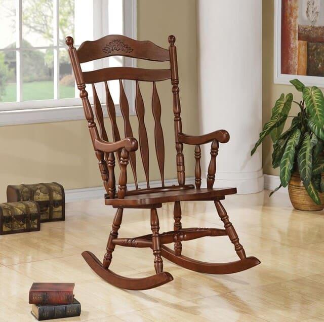 ghế bập bênh phong cách cổ điển
