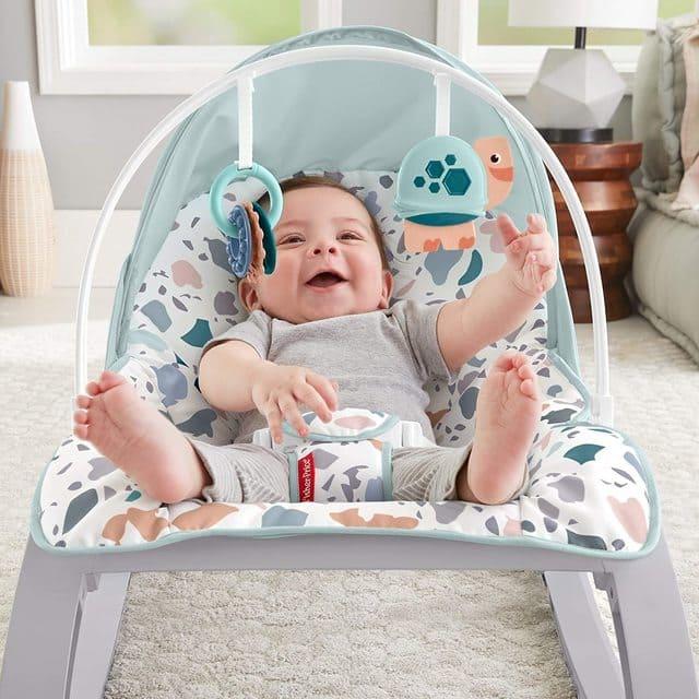 Ghế nôi bập bênh cho bé sơ sinh