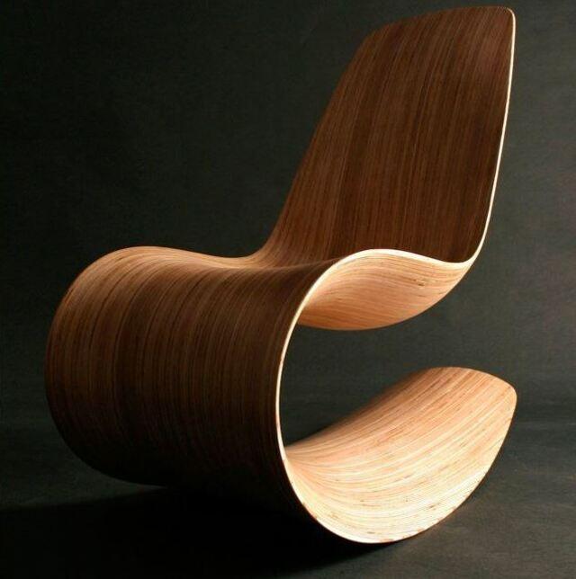 Ghế thư giãn gỗ thiết kế độc đáo