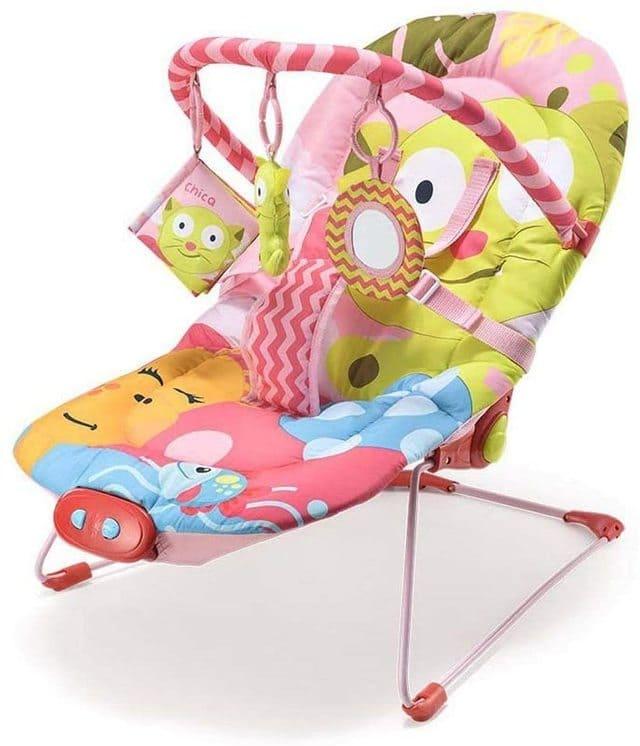 Ghế tựa bập bênh cho bé gái từ 0-15kg