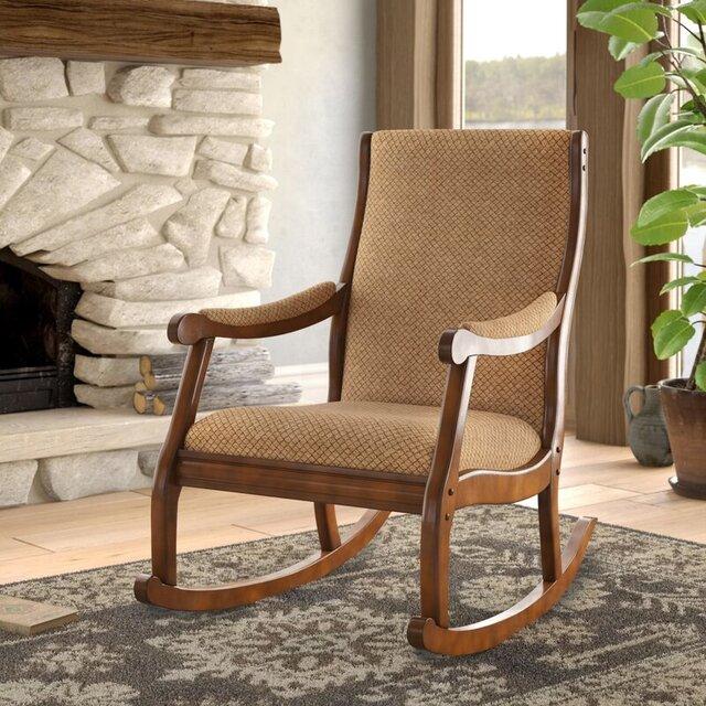 Ghế bập bênh thừ giãn bằng gỗ