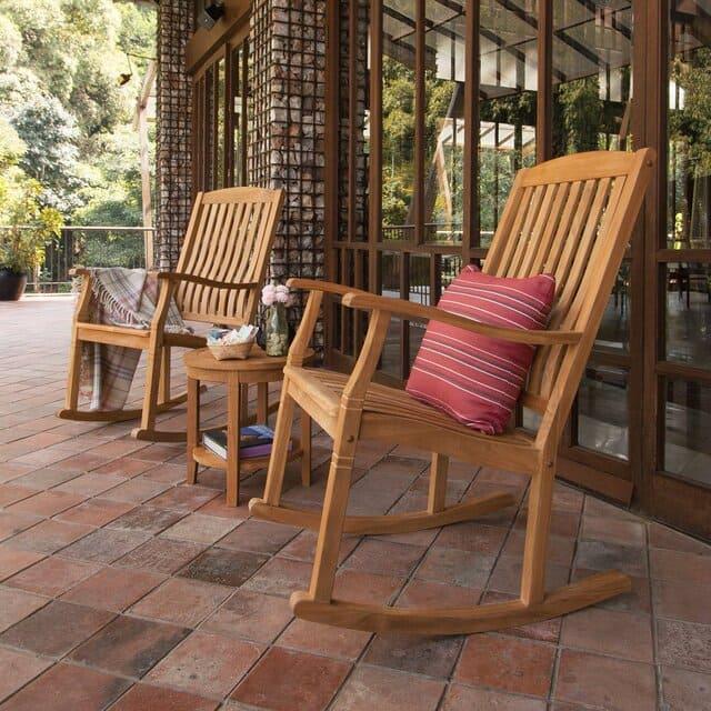 Ghế bập bênh gỗ tràm