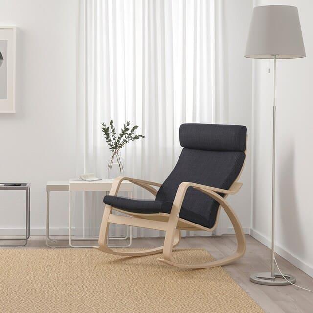 ghế bập bênh phong cách Bắc Âu