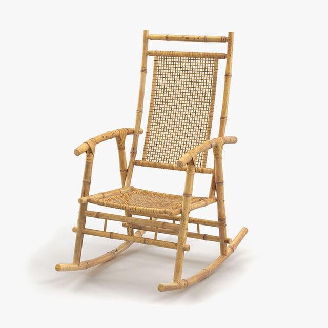 Mẫu ghế bập bênh truyền thống