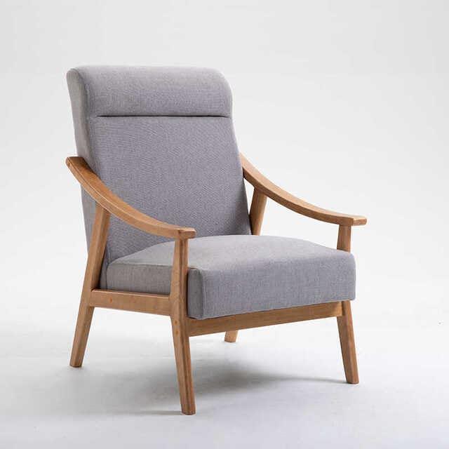 Mẫu ghế gỗ bập bênh bằng gỗ vintage