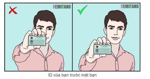 ID mặt trước của CMND