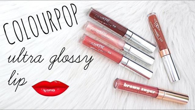 Các sản phẩm cho môi của Colourpop