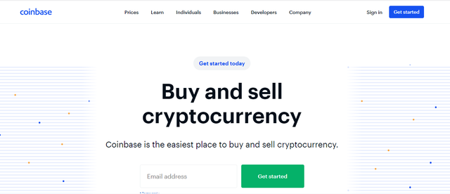 Sàn giao dịch bitcoin Coinbase