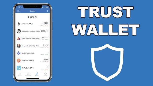 Ví bitcoin Trust wallet
