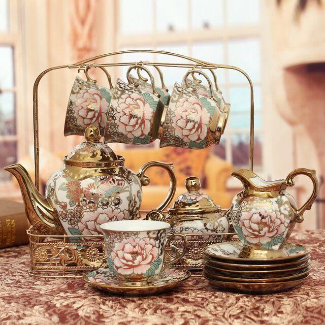 bộ ấm uống trà