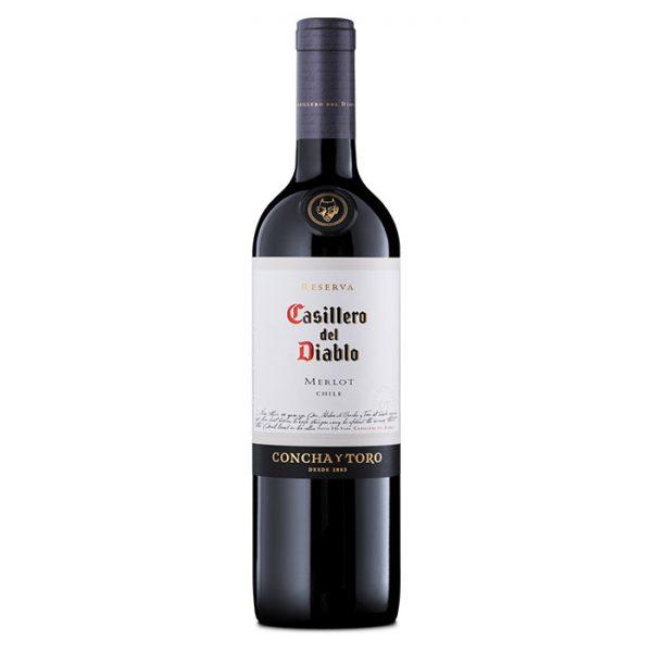 Rượu Vang Chile Casillero del Diablo Merlot