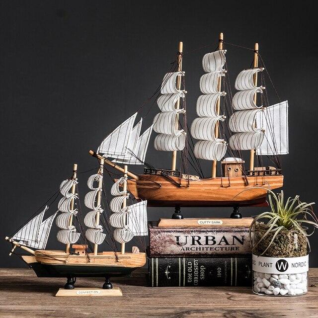 mô hình thuyền để bàn